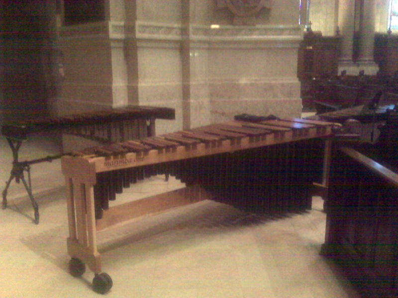 My Marimba One at the St. Paul Cathedral