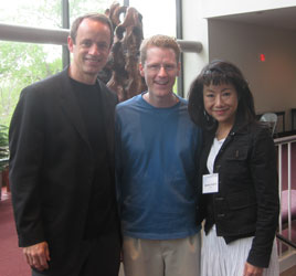Mark Ford, Jeff Sass and Momoko Kamiya